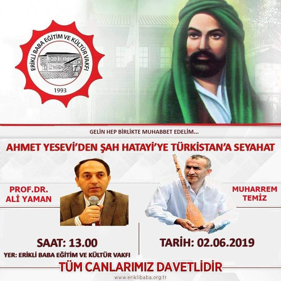 Muhabbete Davet: Ahmet Yesevi'den Şah Hatayi'ye Türkistan'a Seyahat