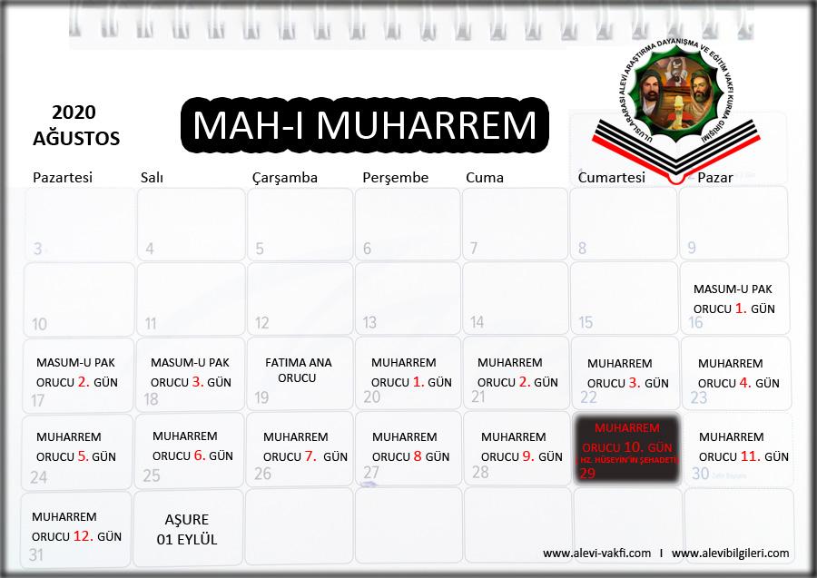 MUHARREM ORUCU-ONİKİ İMAMLAR ORUCU