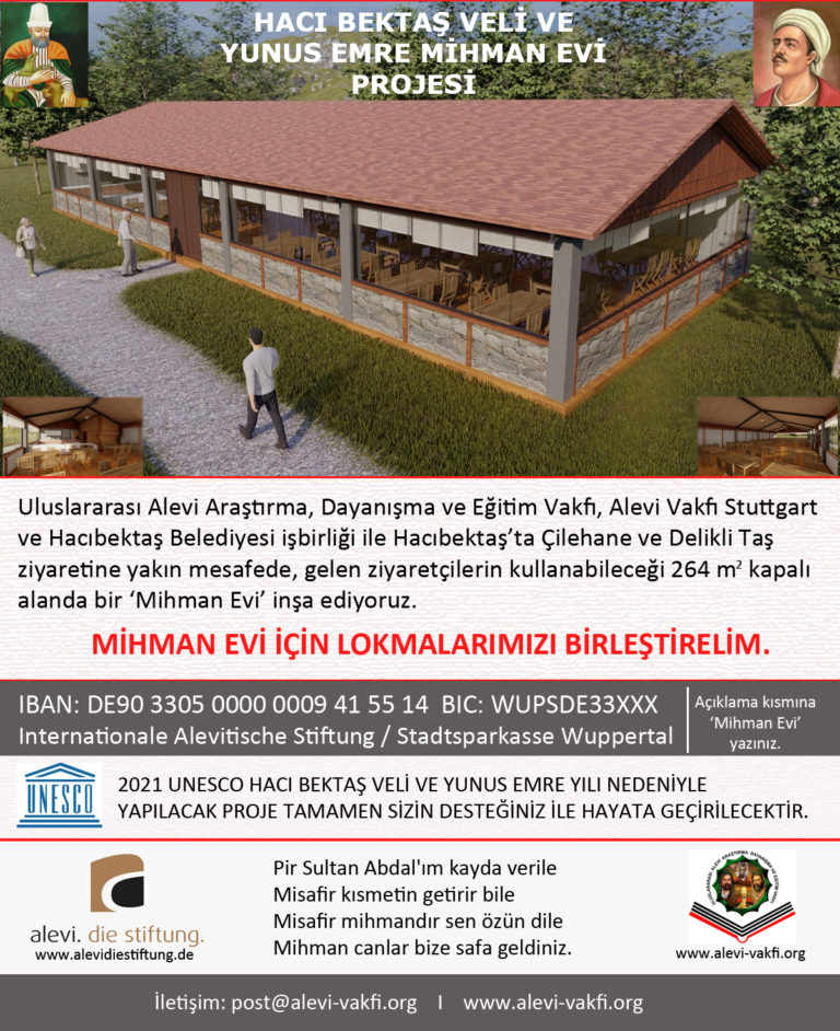 Hacıbektaş'a Mihman Evi Yapılıyor